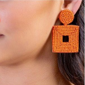 Francesca's Collections Jewelry - Francesca's Dani Beaded Statement Earrings